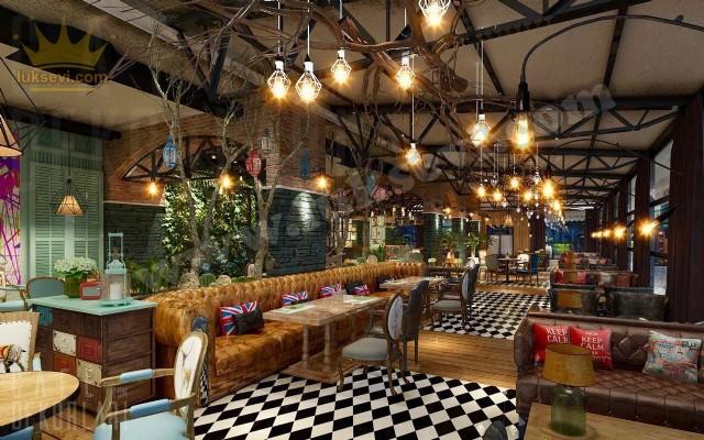 Hakiki Deri Kafe Restoran Chester Koltuklar Kanepe Sedir İşleri