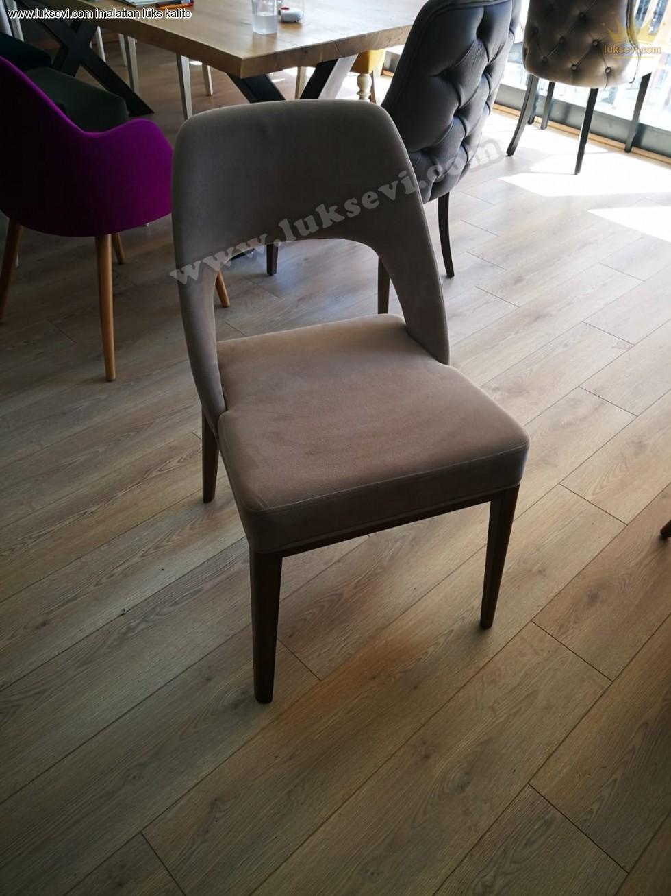 Kavisli Modern Yemek Odası Sandalye Modelleri