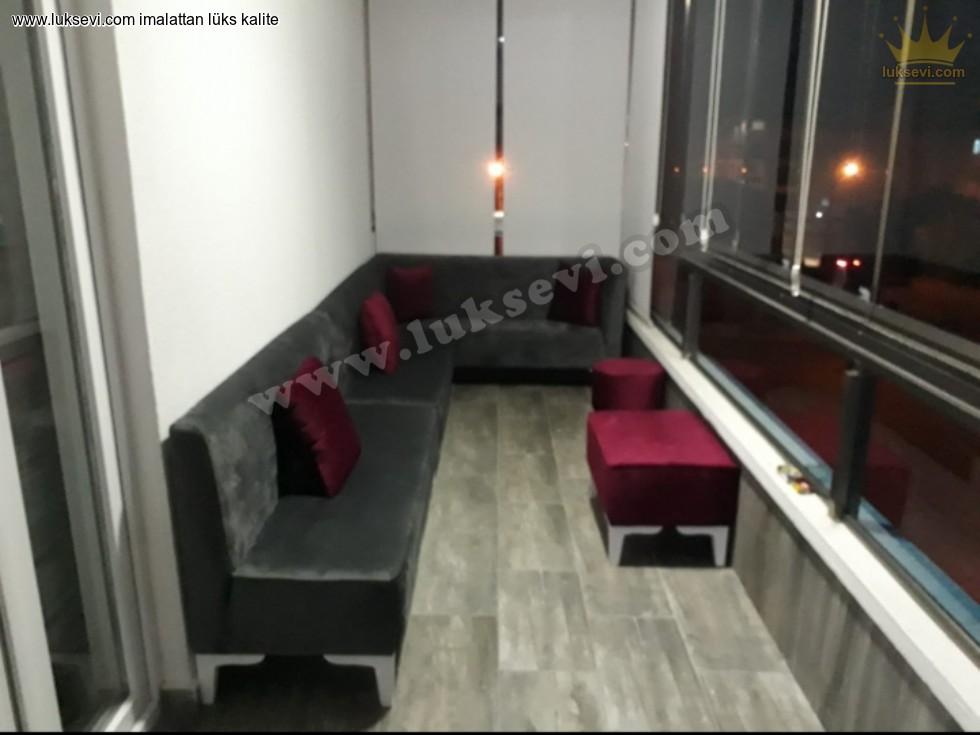 Resim No:9518 - Balkon Köşe Koltuk