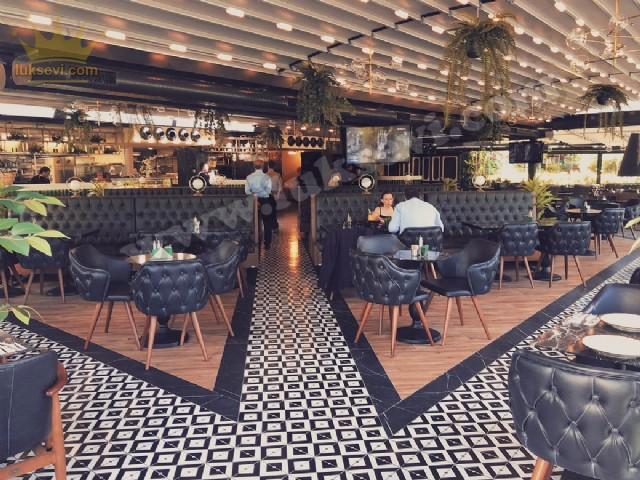 Cafe Restoran Lüks Koltuklar Sandalyeler