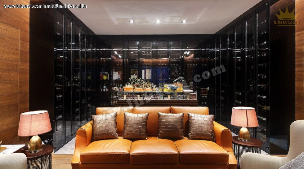 Resim No:6665 - Deri Otel Odası Kanepe Modeli