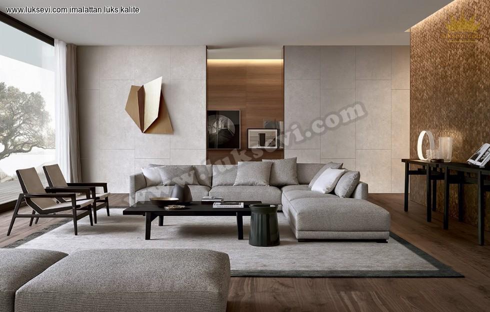Resim No:1988 - Europa Ecksofa Modern Luxury Köşe Takımları