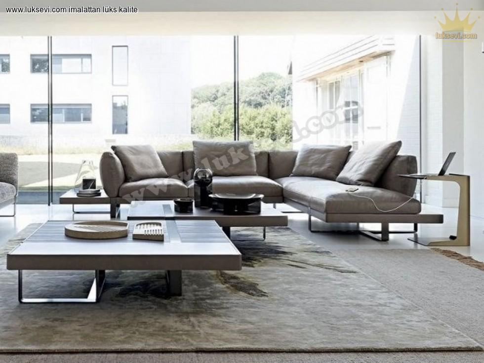 Resim No:1430 - Güzel Evim Modern Köşe Takımı Lüks Tasarımlar
