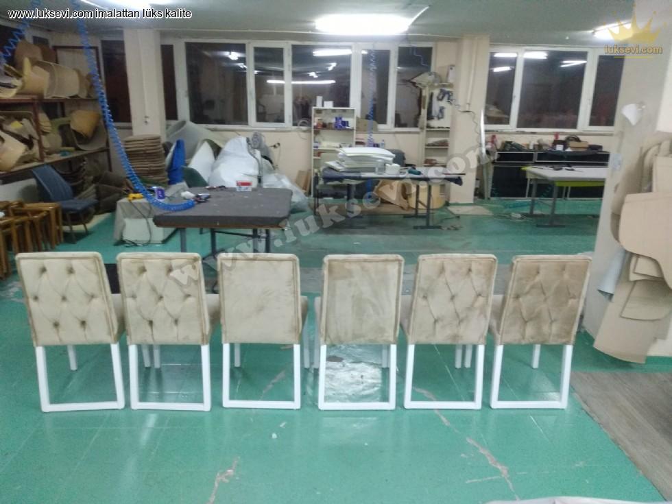 Resim No:6853 - Kapitoneli Sandalye Modelleri
