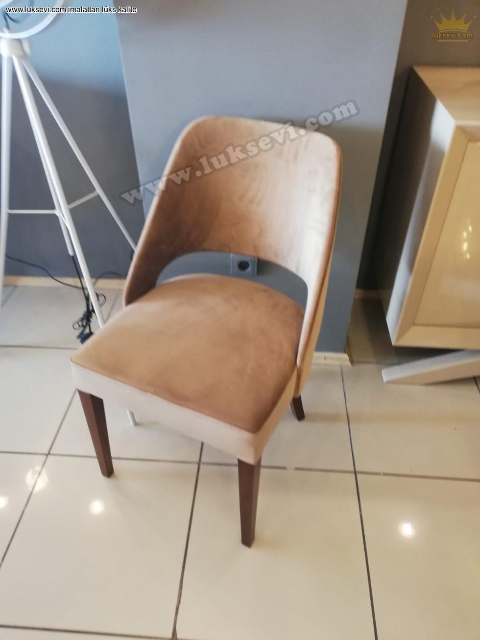 Resim No:6852 - Kavisli Modern Sandalye Modeli