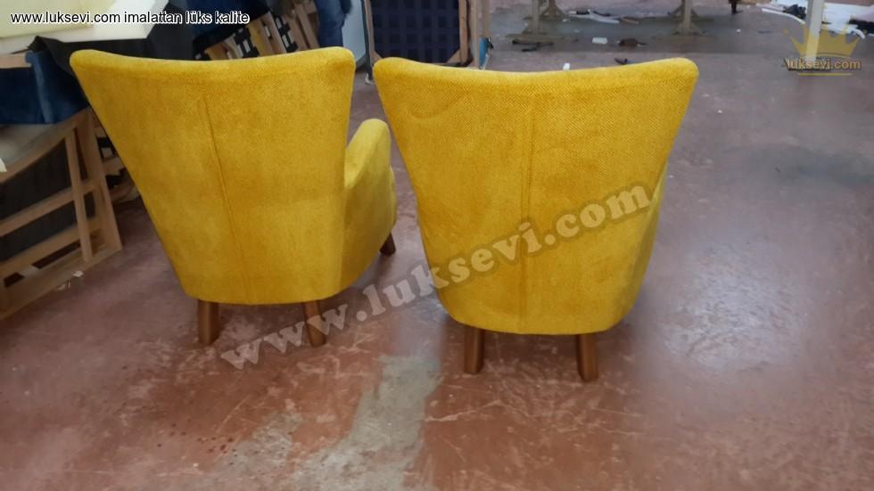 Resim No:6838 - Limon Berjer Koltuklar Arkadan Görünüm