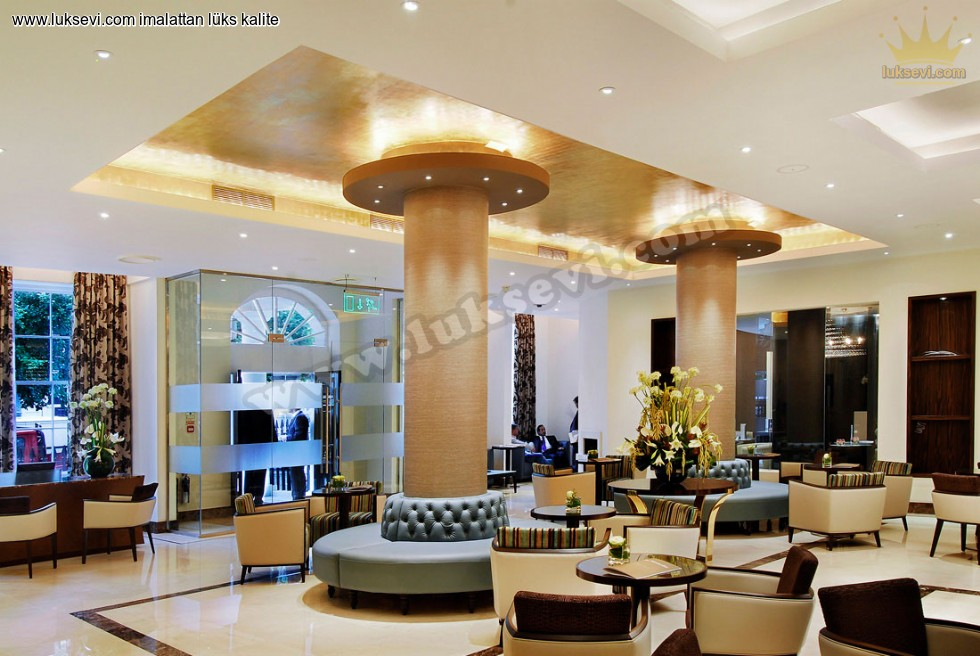 Resim No:6695 - Lüks Modern Otel Lobi Koltukları
