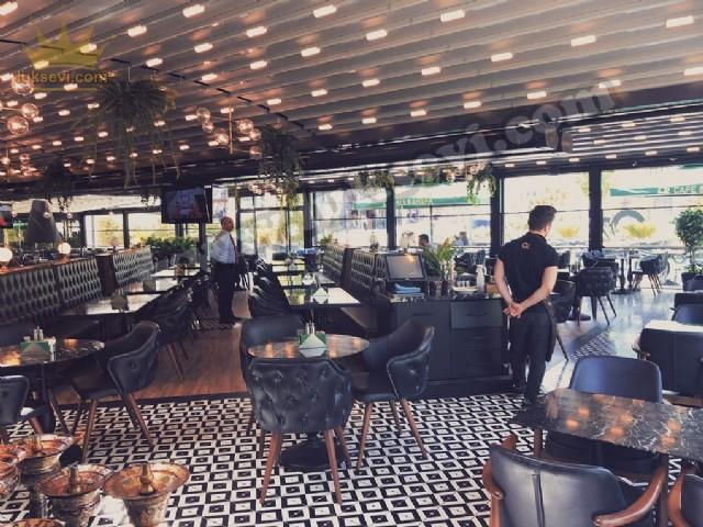 Lüks Restoran Cafe Koltuk Sandalyeleri