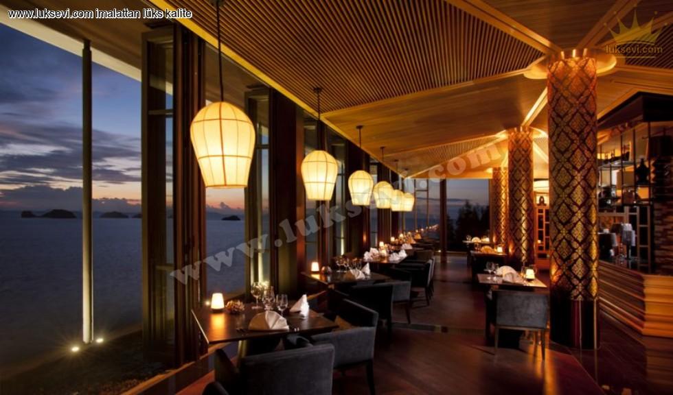 Resim No:7450 - Lüks Restoran Lokanta Masa Ve Sandalyeler