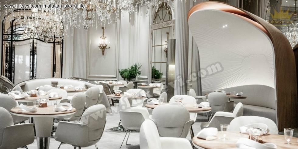 Resim No:7451 - Lüks Restoran Tasarımı Masa Sandalye Ve Koltuk Modelleri