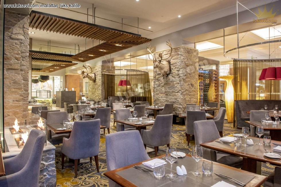 Resim No:6604 - Luxury Restaurant Cafe Tables And Chairs