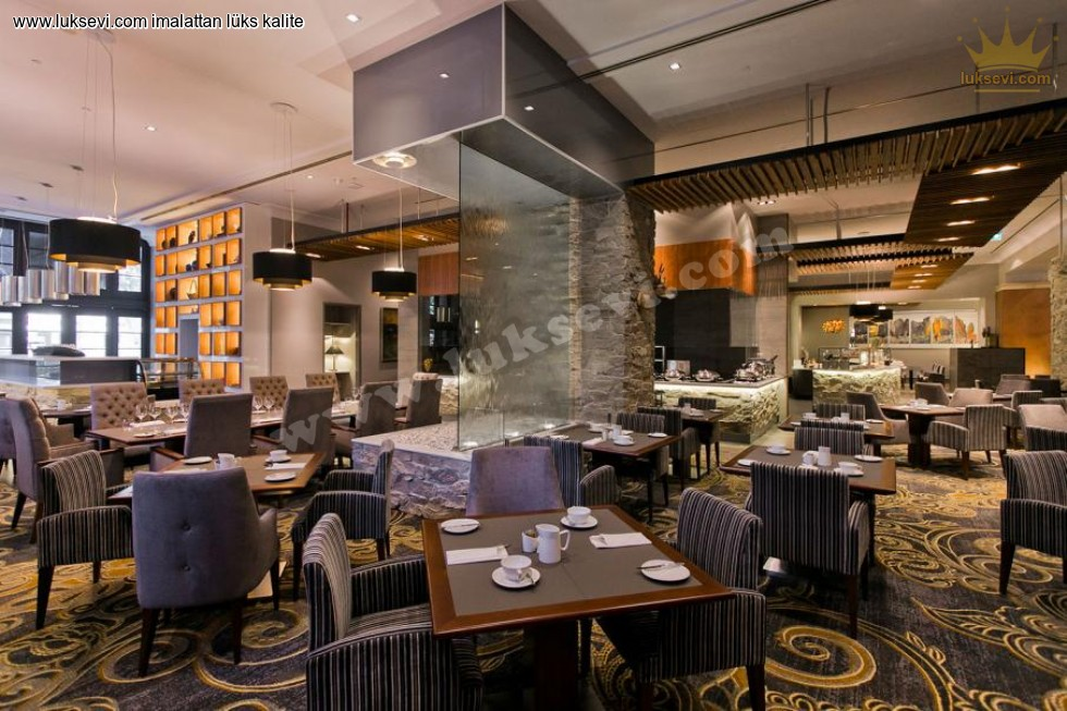 Resim No:6602 - Luxury Restaurant Interior Design Tables And Chairs