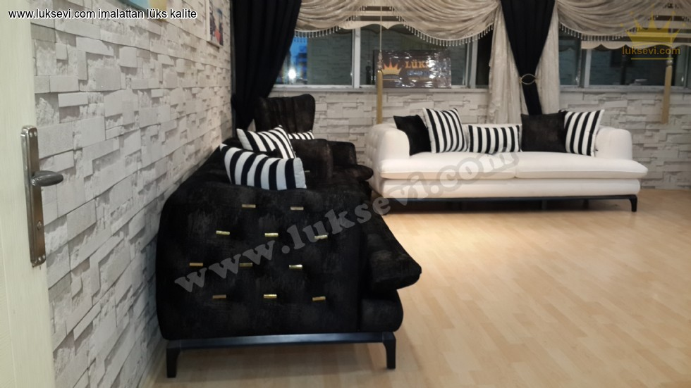Resim No:5707 - Modern Luxury Chester Koltuk Takımı