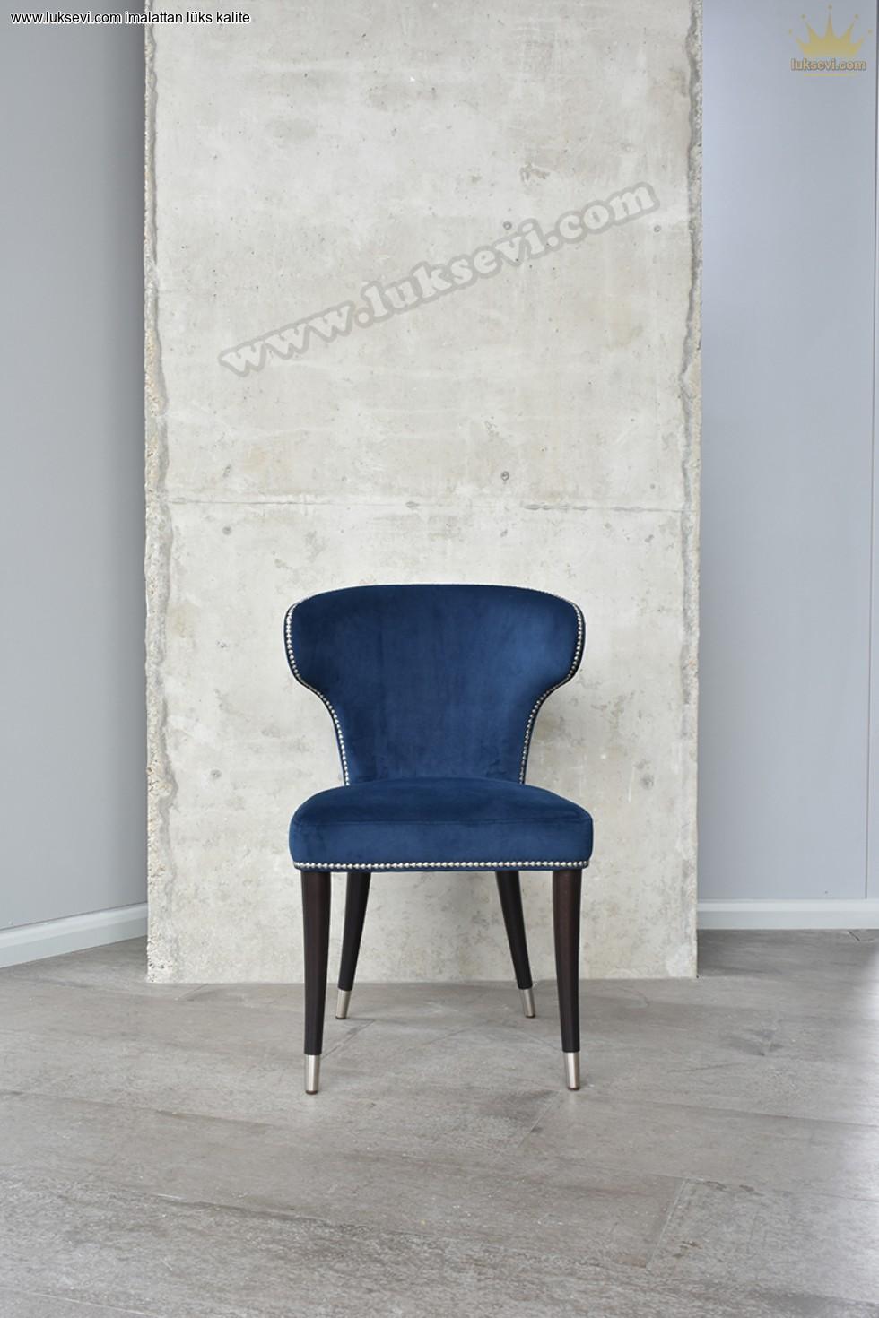 Resim No:6608 - Modern Luxury Restaurant Chair