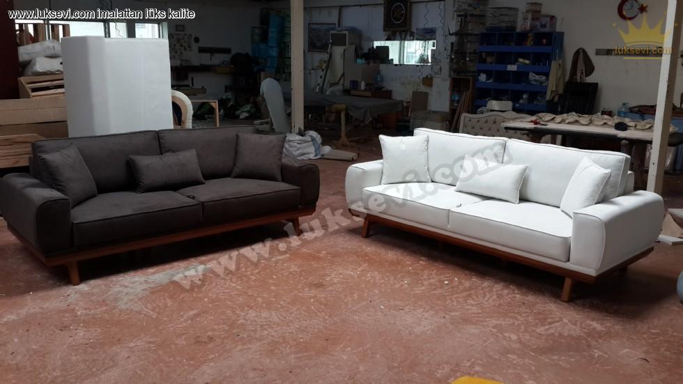 Resim No:7615 - Modern Yataklı Oturma Grupları Özel Üretim