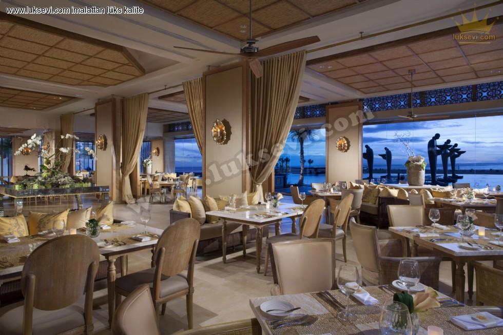 Resim No:7454 - Otel Ve Restoranlar İçin Lüks Masalar Koltuklar Ve Sandalyeler