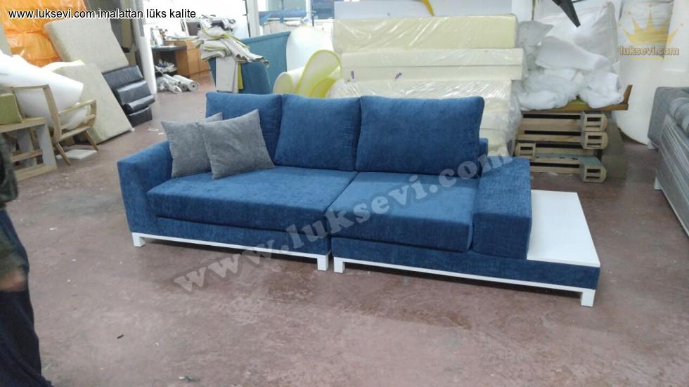 Resim No:7715 - Özel Modern Kanepe Mavi