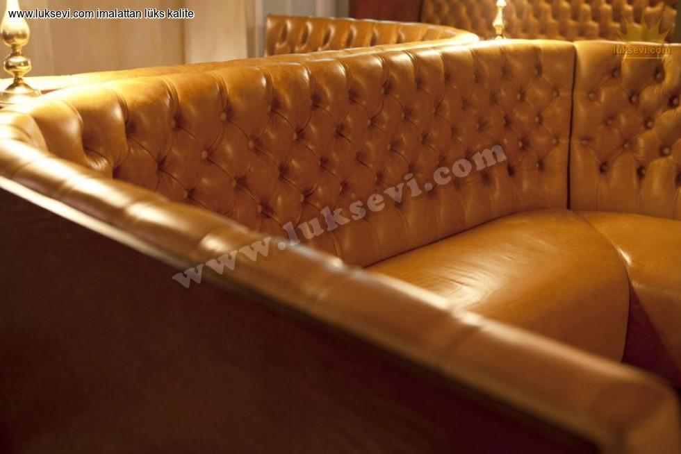 Resim No:6715 - Özel Tasarım Chester Sedir Koltuklar
