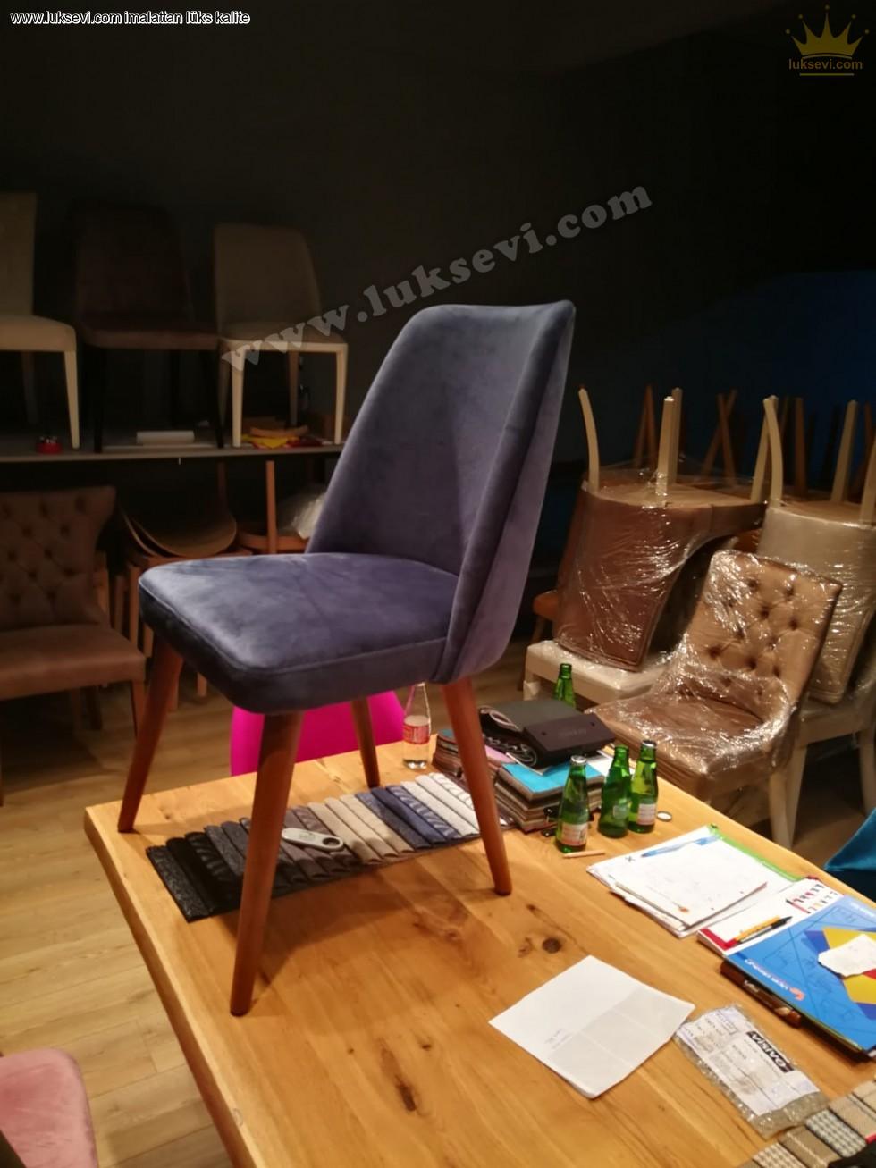 Resim No:6856 - Tornalı Lüks Modern Sandalye