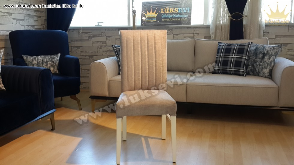 Resim No:6850 - Yemek Odası Sandalye Modelleri Modern Sandalye