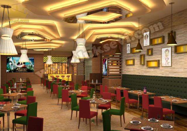 Cafe Restoran Masa Ve Sandalye Tasarımı