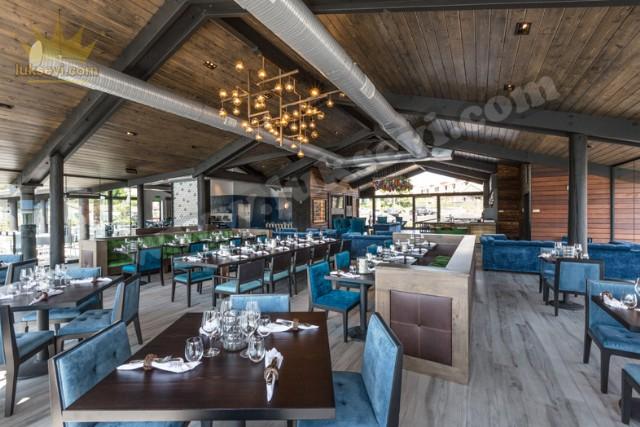 Lüks Lokanta Restoran Koltuk Masa Ve Sandalyeler