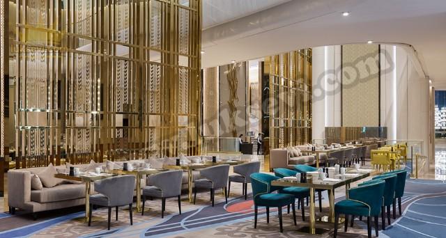 Lüks Otel Restoran Koltukları Mobilyaları Sandalyeler