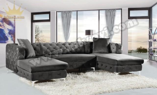 Luxury Modern Chester U Köşe Takımı