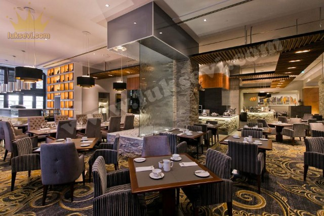 Luxury Restaurant Interior Design Tables And Chairs