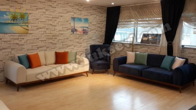 Modern Lüks Oturma Odası Koltuk Takımı Modelleri