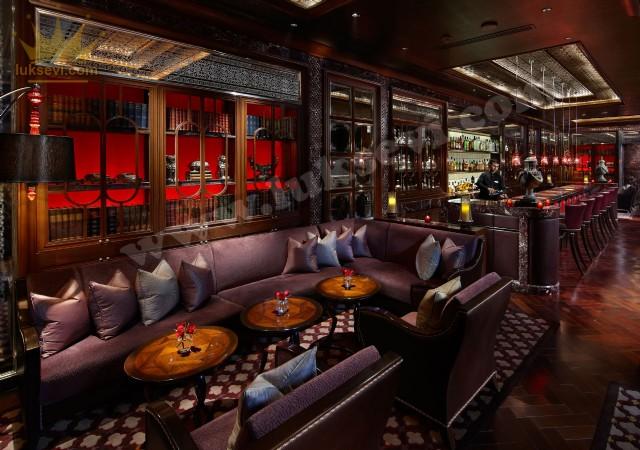Otel Cafe Sedir Koltukları Masa Ve Sandalyeler
