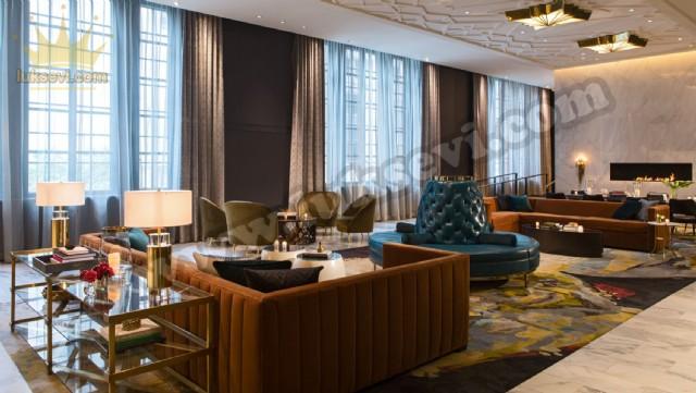 Otel Lobisi Koltuk Modelleri Butik Tasarımlar