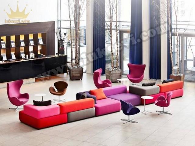 Renkli Dekoratif Koltuk Modelleri