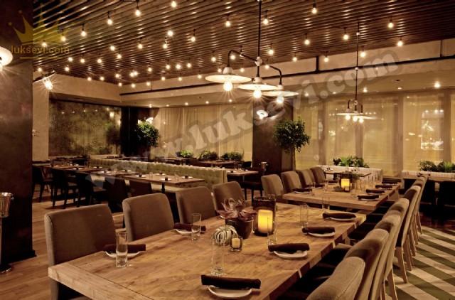 Restoran Chester Sedirler Masa Ve Sandalyeler