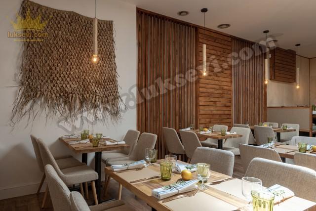 Restoran Masa Ve Sandalye Modelleri