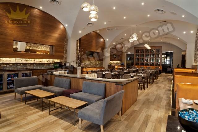 Restoran Tasarımı Masa Sandalye Sedir Koltuklar