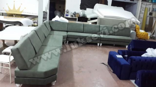 Sedir Köşe Takımı - Booth Corner Sofa Exclusive