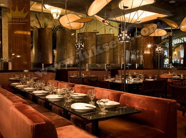 Vintage Restoran Sedirler Masalar Koltuklar
