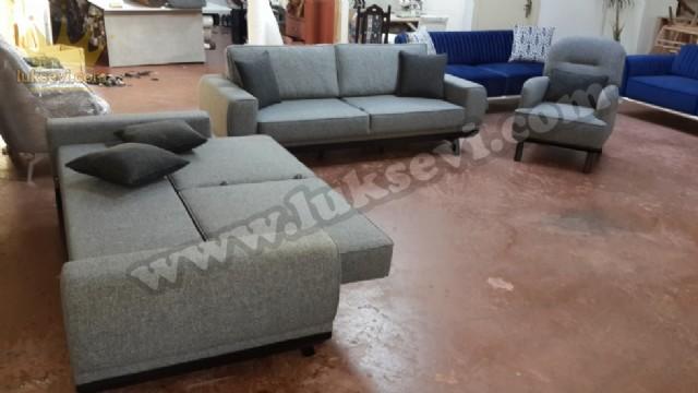 Yataklı Oturma Odası Koltuk Takımı Modern Oturma Gurubu