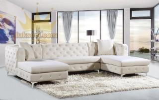 Çift İstirahatli Luxury U Köşe Koltuk Takımı İstanbul Luxury Sofas