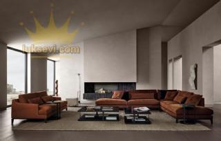 Hamburg Ecksofa Modern Luxury Köşe Koltuk Takımları Özel Üretim