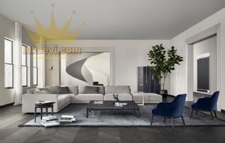 Hannover Modern Ecksofa Köşe Koltuk Takımı Luxury Köşe Takımı