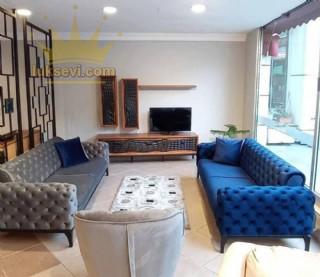 Modern Chester Koltuk Takımı Yataklı Mavi Füme Renkler