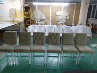 Modern Düz Kapitoneli Sandalye